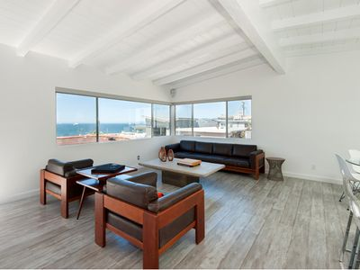 Photo for Chic + Modern - Spectacular Ocean Views - Steps From The Beach