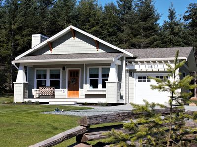 Photo for Bright modern cottage on acreage minutes from Sooke