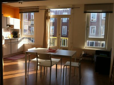 Photo for Bright And Cozy Studio Apartment In The Center Of Amsterdam