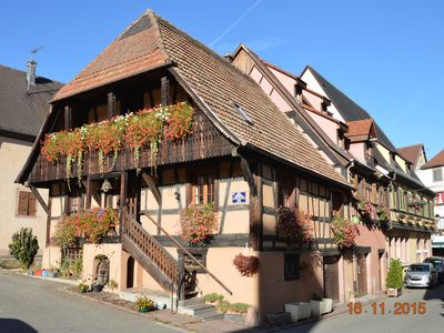 Photo for 1BR Apartment Vacation Rental in Kaysersberg Vignoble, Grand Est