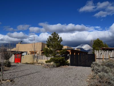 Photo for Momentitos, on the Taos ski valley road with views of the Taos Mountains