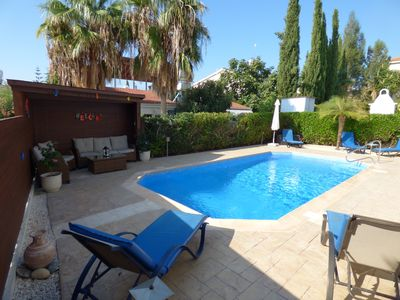 Photo for 3 Bed Detached Villa, Private Pool & Car included! A/C, WiFi, Sky TV