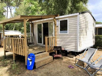 Photo for Camping Le Roussillonnais *** - Mobil Home Classic Plus 2 rooms 3 persons