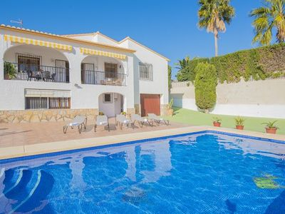 Photo for 4 bedroom Villa, sleeps 8 with Pool and Walk to Beach & Shops