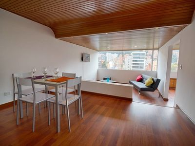 Photo for Apartment in Bogotá with Internet, Lift, Washing machine (693599)