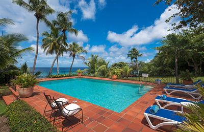 Photo for Secluded Beachfront Villa with Large Pool and Gardens - Fryers Well Bay