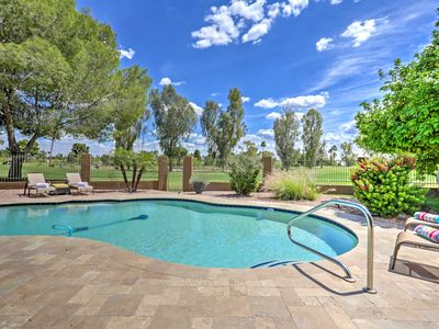 Photo for Scottsdale Golf Course Home w/ Private Pool & BBQ!