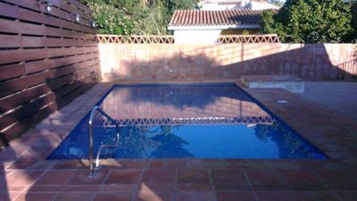 Photo for Private, Comfortable villa with private pool and garden - 3 minute walk to beach