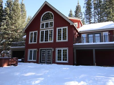 Photo for Secluded 4-Bedroom Breckenridge Retreat on 2 1/2 Acres w/ 2 Kitchens