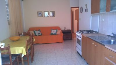Photo for Two bedroom apartment with terrace Ivan Dolac (Hvar)