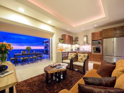 Photo for Ocean view condo, 50 steps from the main beach. In the heart of Zona Romantica!