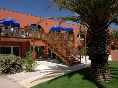 Photo for Car-free holiday home near the beach in the coastal resort Le Cap d'Agde