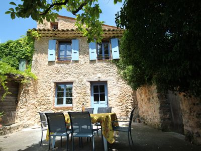 Photo for Lou Penequet, a charming Mas in Provence with shared  pool, countryside