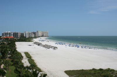 Marco Island's white sugar-sand crescent beach.