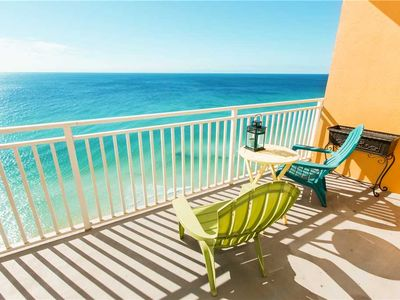 Photo for Perfect Splash Condo W/ Private Balcony +Extra Bunk-bed Room, FREE BEACH SERVICE!