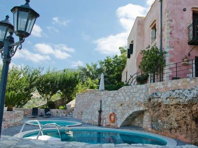 Photo for House in the center of Kastellos with Internet, Pool, Air conditioning, Parking (488717)