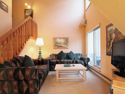 Photo for Lake Placid #329  1-Bedroom Creekside Condo with Kitchen and Fireplace