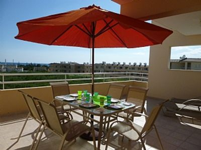 Photo for 1st Floor Apartment With A Large South and West Facing Balcony with Shared Pool,