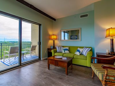 Photo for Origin 717 at Seahaven condo on the 7th floor.  Sleeps up to 4.  Beautifully updated!