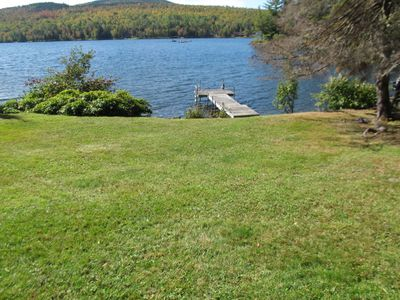 Photo for Enjoy swimming, boating and wonderful views of Rangeley Lake and Bald Mountain