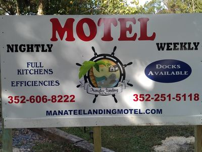 Photo for Manatee Landing has 5 units on a fresh water canal leading to the gulf.