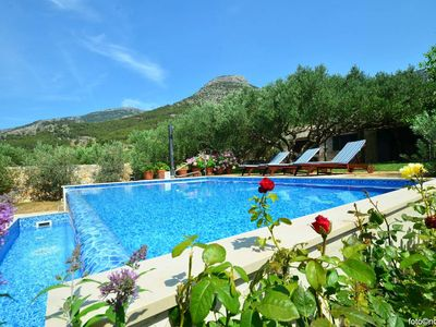 Photo for Family friendly house with a swimming pool Bol, Brač (K-14291)