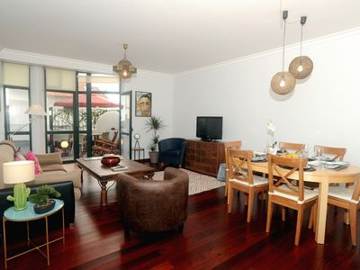 Photo for Ground floor spacious apartment near the old town of Funchal