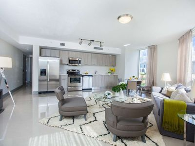 Photo for ASK US FOR DISCOUNTS - Stylish 2/2 Brickell / Downtown Miami Condo 10 Minutes from South Beach
