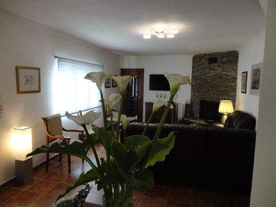 Photo for cozy villa, situated five minutes from the beach on foot.