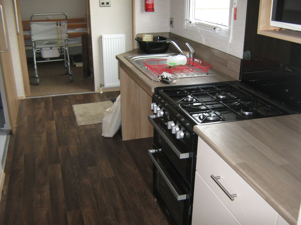 Fully Accessible Wheelchair Adapted Mobile Home On Site