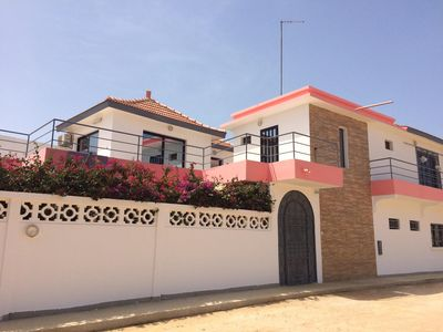 Photo for For rent Villa Ngaparou near Saly - Senegal swimming pool 1 bedroom and 2 suites
