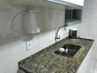 Photo for Apartment located three blocks from Praia do Forte !!!