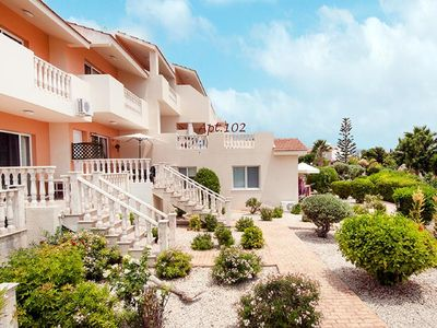Photo for Peyia Paradise. Lovely south facing one bed apartment, Peyia Coral Bay