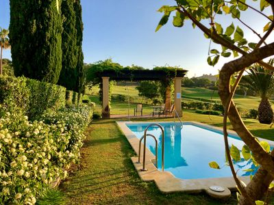 Photo for First line of golf. Wide and quiet house in Sotogrande. Amazing location