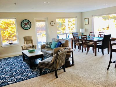 Photo for ★2 BR @ Beach ~ JACUZZI ~Jetted Tub ~ King Bed ~ POOL (May-Oct) ~ Dogs★