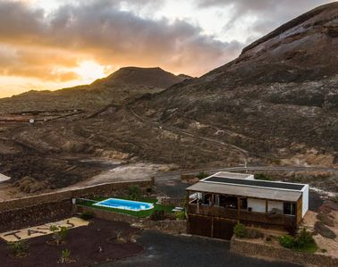 Photo for Eco-Villa immersed in a natural park of volcanic origin.