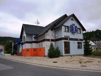 Photo for Comfortable apartment in the Sudeten Mountains, only 400 metres from the chair lift station.