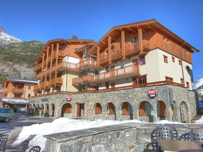 Photo for A comfortable apartment in the village of Val Cenis and at the foot of the ski-slope.