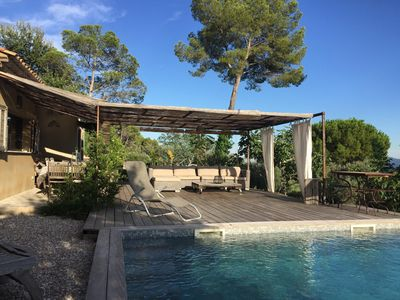 Photo for NEW! Villa with private pool, quiet view in the heart of Provence