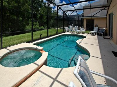 Photo for Beautiful family villa with Pool/SPA/Game Room/Crib, close to Disney