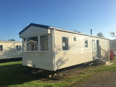 Photo for 3 bed Caravan in a Holiday park, 20 min from Lakes