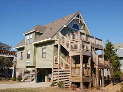 Photo for Tarheel Treasure | 450 ft from the beach | Dog Friendly, Hot Tub