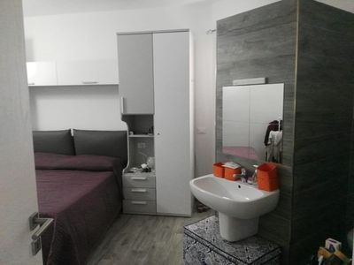 Photo for New Construction,  beautiful 2 bed apartment facing the sea, Wi-fi ,Aircon