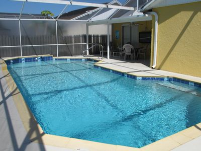 Photo for Cozy Pool Home Villa close to Disney, Malls and Supermarkets