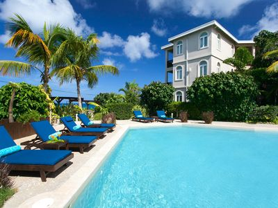 "Photo for Fountain Anguilla by ""Refined Retreats"" Sleeps 6~FULL kitchen~Private Terrace!"