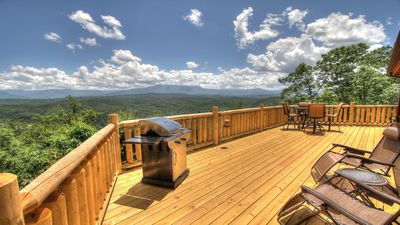 Photo for APRIL 22-24 OPEN!/VERY PRIVATE!/BREATHTAKING VIEWS!/LOFT THEATER!/FIREPIT!