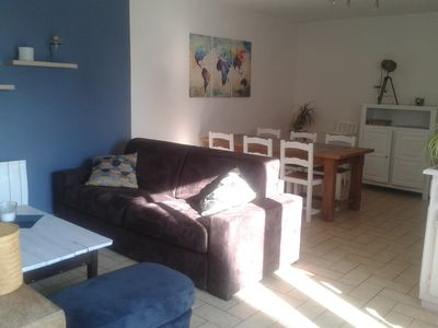 Photo for house at 600 m from the sea and beach, Wifi, baby, 2 bicycles