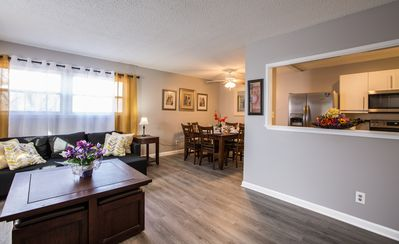 Unit 4: Cute and affordable 3BDR duplex in Overland Park for up to 10 people!