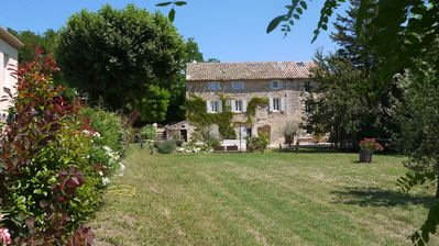 Photo for Beautifully renovated 18th century Provencal stone mill