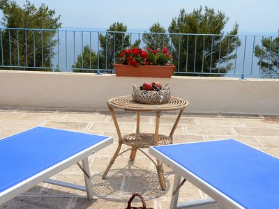 Photo for Apartment in coastal, with terrace offering stunning sea views!